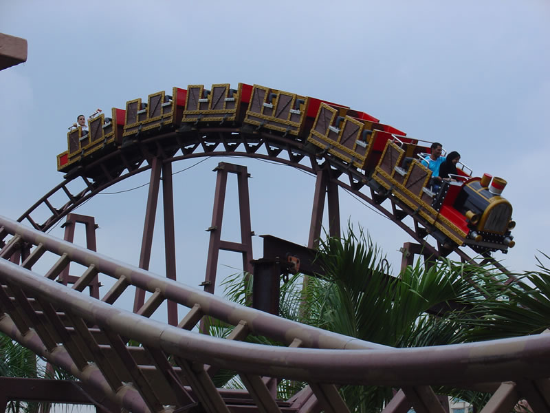 Wow! Jom lepak Theme Park!