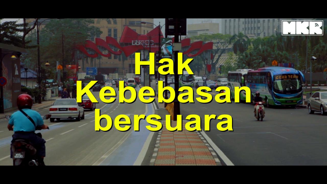 Kebebasan suara di Malaysia