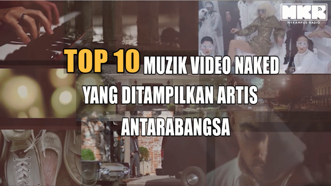 Top 10 Naked Music Video