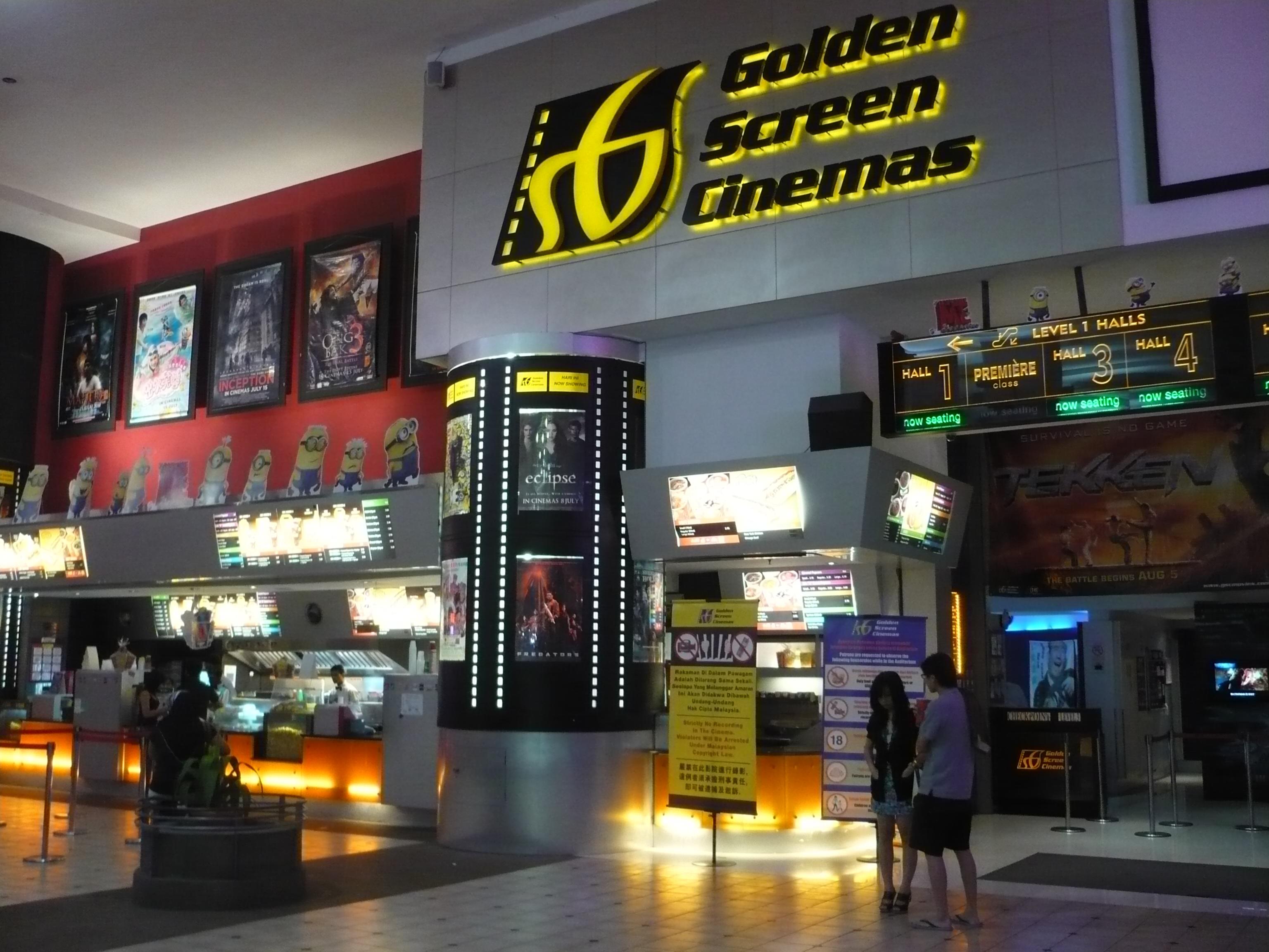 TOP 10 Mall Terbaik untuk menonton movie