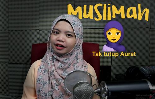Muslimah Tak tutup Aurat