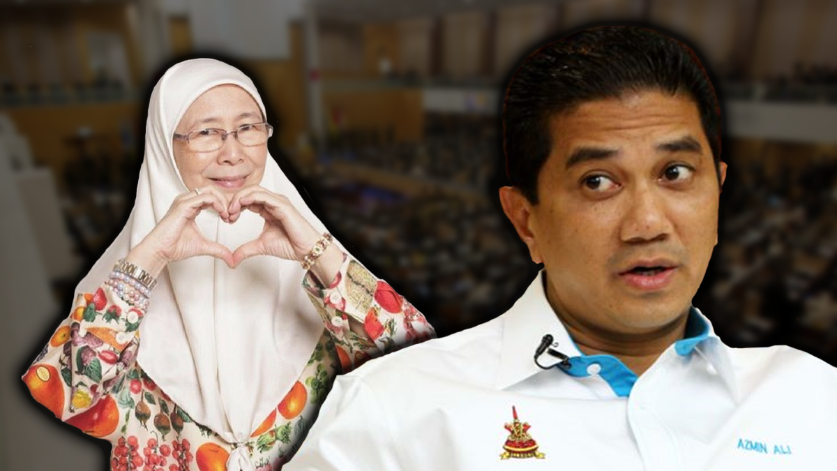 Azmin Ali Bakal Ganti Wan Azizah?