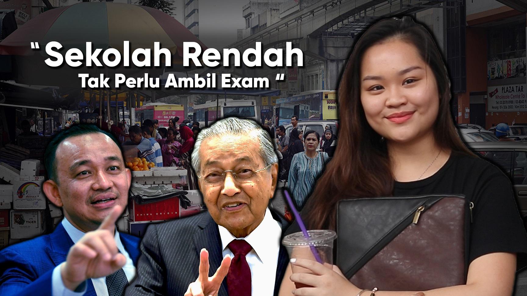 Isu Kasut Hitam Putih, Tanda Mahathir Tak Ready?