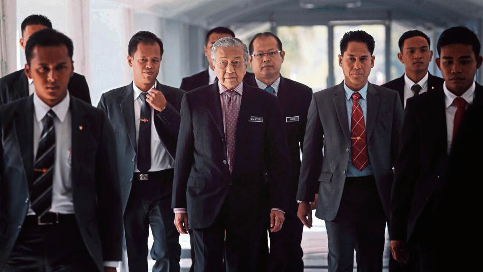 MAHATHIR GAME ON OR  GAME OVER