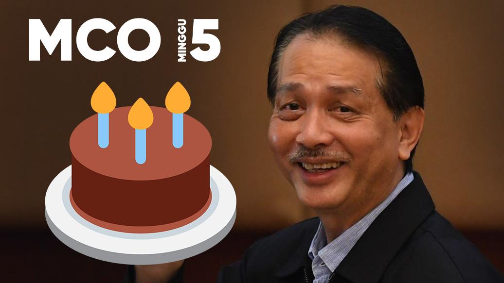 Lockdown: KEGILAAN Malaysia Minggu 5th MCO COVID-19 (15-21 April 2020)